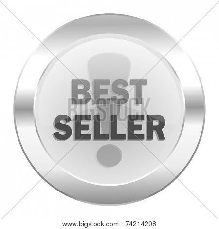 best seller chrome web icon isolated
