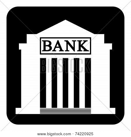 Bank Symbol Button