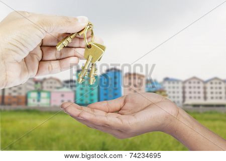 Giving Three Brass Keys