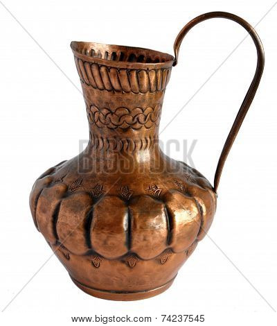 Old Copper Pitcher