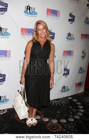 LOS ANGELES - OCT 19:  Erin Murphy at the First Annual Stars Strike Out Child Abuse event to benefit Childhelp at Pinz Bowling Center on October 19, 2014 in Studio City, CA