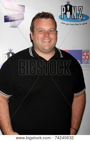 LOS ANGELES - OCT 19:  Adam Bartley at the First Annual Stars Strike Out Child Abuse event to benefit Childhelp at Pinz Bowling Center on October 19, 2014 in Studio City, CA