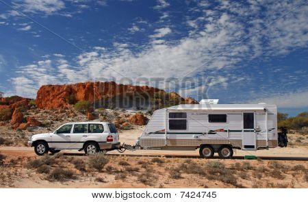 Outback Touring In Australia in RV
