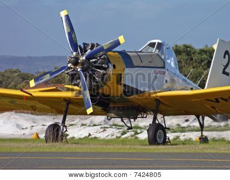 Propeller And Engine