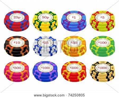 Uk Casino Chip Stacks