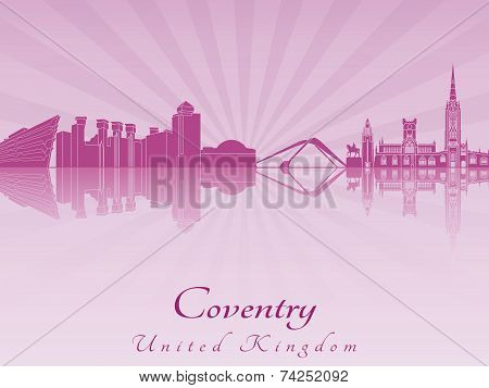 Coventry Skyline In Purple Radiant Orchid