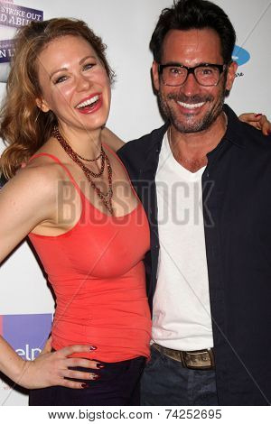 LOS ANGELES - OCT 19:  Maitland Ward, Gregory Zarian at the First Annual Stars Strike Out Child Abuse event to benefit Childhelp at Pinz Bowling Center on October 19, 2014 in Studio City, CA