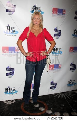 LOS ANGELES - OCT 19:  Angeline Rose Troy at the First Annual Stars Strike Out Child Abuse event to benefit Childhelp at Pinz Bowling Center on October 19, 2014 in Studio City, CA