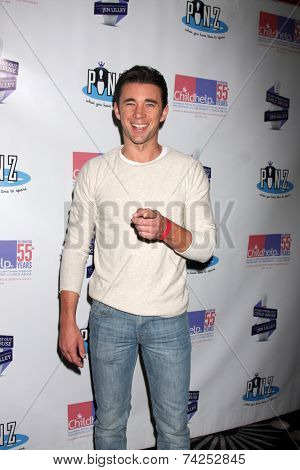 LOS ANGELES - OCT 19:  Billy Flynn at the First Annual Stars Strike Out Child Abuse event to benefit Childhelp at Pinz Bowling Center on October 19, 2014 in Studio City, CA