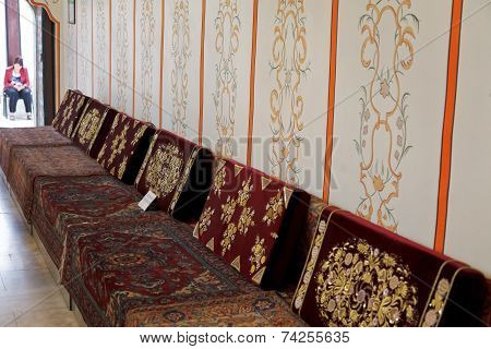 Interior Of Divan Chamber In Khan's Palace, Crimea