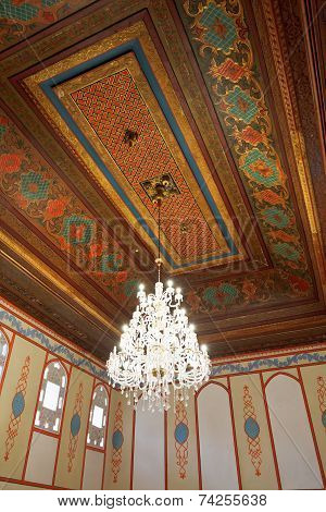 Ceiling Of Divan Chamber In Khan's Palace, Crimea