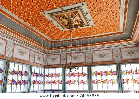 Ceiling Of Summer Hall In Khan's Palace, Crimea