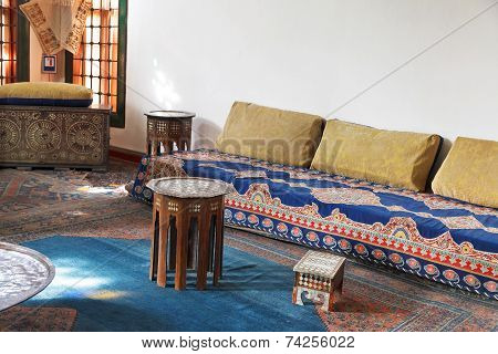 Interior Dwelling Room Of Harem In Khan's Palace