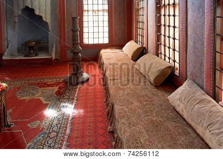 Decoration Of Harem Room In Khan's Palace, Crimea