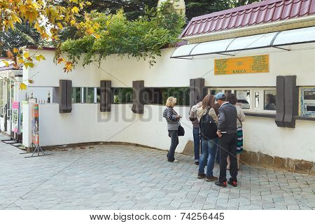 Ticket Office Of Nikitsky Botanical Garden, Yalta