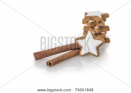 Cinnamon Sticks With Biscuit