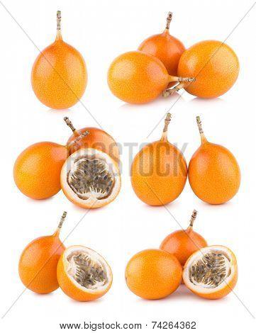 set of 6 granadilla images