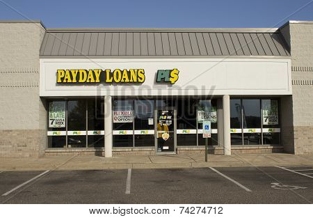 Payday Loans Storefront