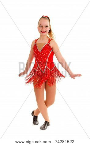 Tween Jazz Dancer In Rend