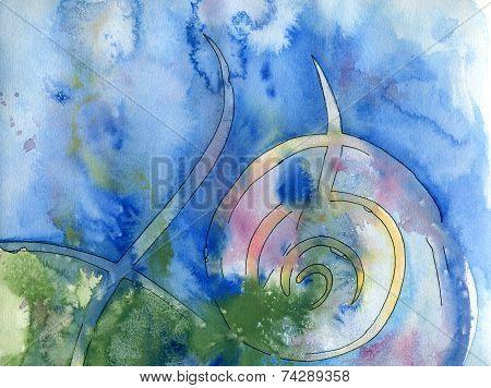 Spiral background texture