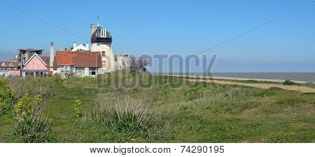 Old Lighthouse Aldeburgh Beach Suffolk