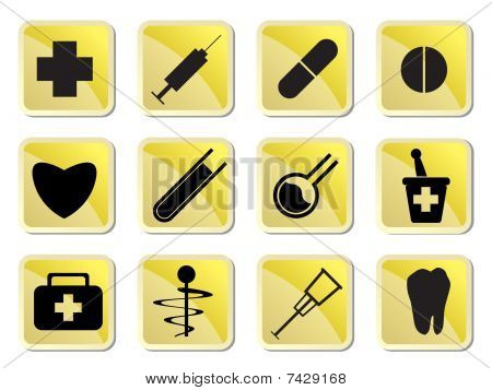 Medical and healtcare Icons