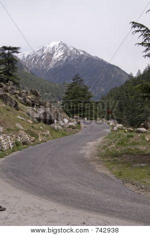 Mountain road, India, Hymalayas
