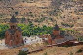 picture of armenia  - the beautiful Noravank monastery in Armenia near Yerevan - JPG