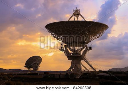 Picture Of Radio Telescopes