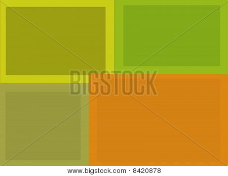 Rectangular Background Composition