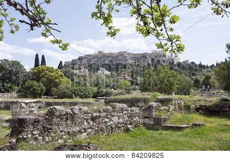 ATHENS, GREECE ON APRIL 14.