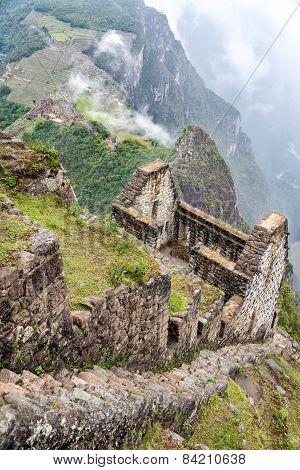 Machu Picchu From Huayna Picchu