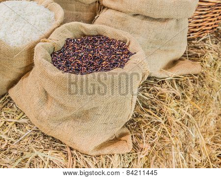 Rice In Sag Bag