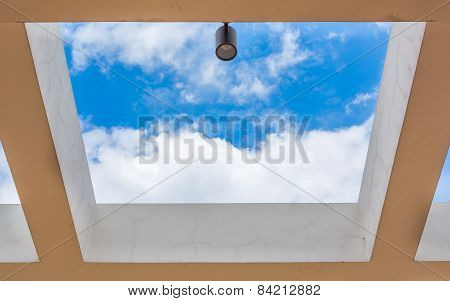 Square Architecture And Sky