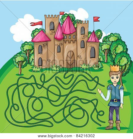 Maze Game - Hehp Princ Find The Way To His Castle