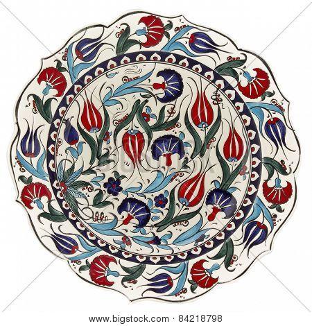 handmade anatolian plate