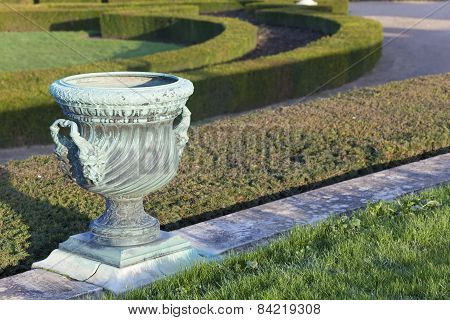 Garden In The Castle Of Versailles, Ile De France, France