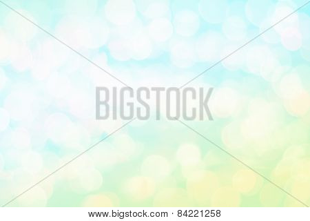 Colorful background with defocused lights, bokeh blurred