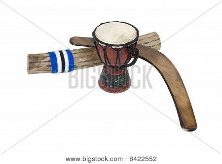 Boomerang, Drum And Rainstick