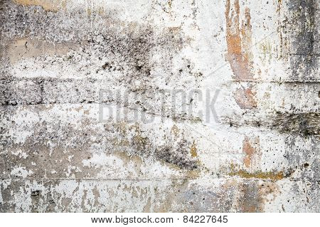 Old Gray Concrete Wall Closeup Background Texture