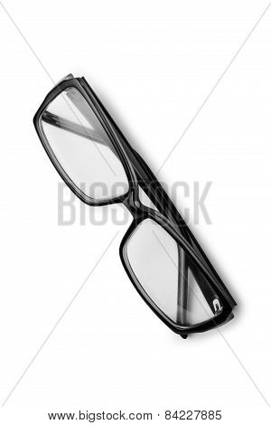 Pair Of Reading Glasses Or Spectacles
