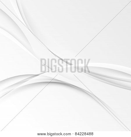 Halftone Swoosh Modern Abstract Background Template