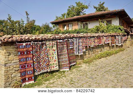 Traditional Bulgarian woven fabrics