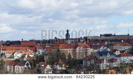 Saxon town in the Eastern Ore Mountains
