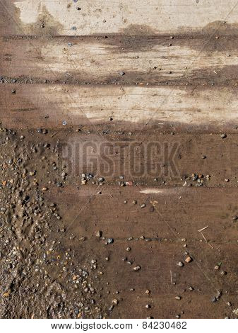 Gravel And Boards