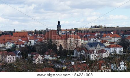 Saxon town in Germany