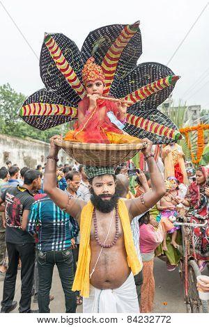 Janmashtami In Dhakeswari Mondir