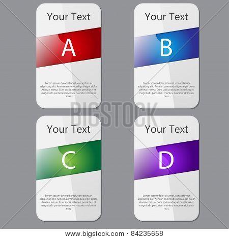 Vector Web Design Banner