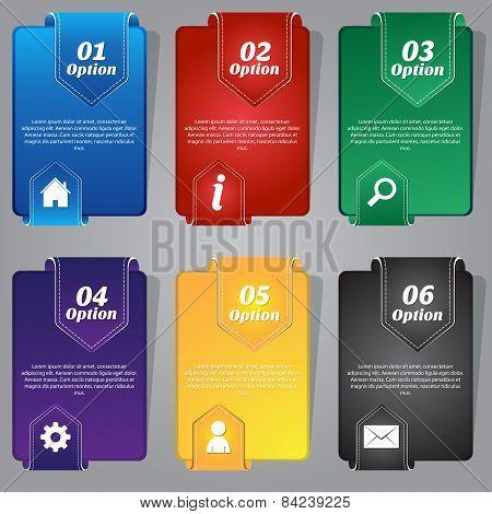 Colorful Web Banner Vector Design