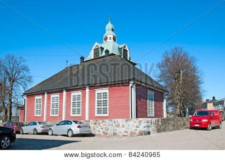Porvoo. Finland. Small Church